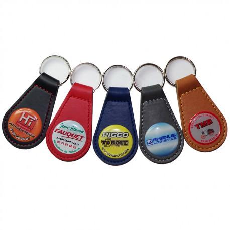 porte-clés voiture avec logo